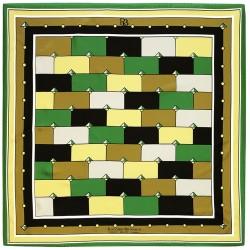 Idiomes - Foulard donna camouflage 140x140 chiffon 100% seta